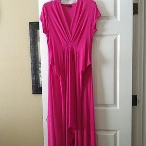 Pink Hi Low Dress